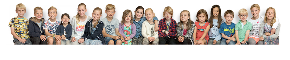 Paschalisschool - Rij kinderen